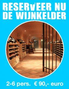 Reserveer Wijnkelder