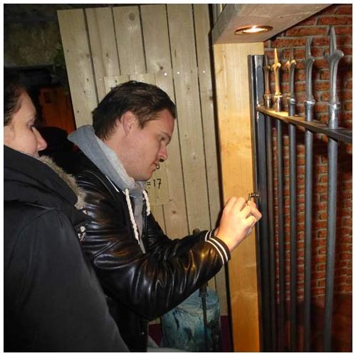 escape room wijnkelder